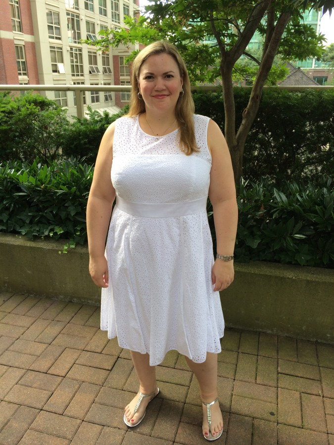 Dress - Eliza J via Nordstrom Shoes - Payless